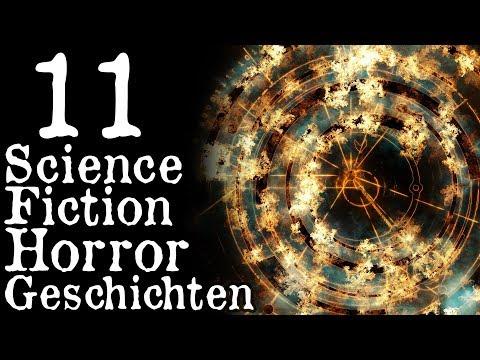 11 Horror-Sci-Fi-Geschichten | Creepypasta Compilation German / Deutsch | Horror Hörbuch