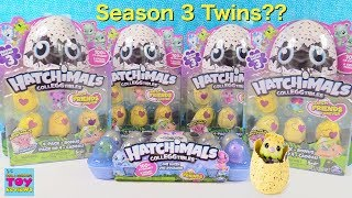 Season 3 Hatchimals CollEGGtibles Hatch Twins Unboxing Plus Exclusive Toy Review | PSToyReviews