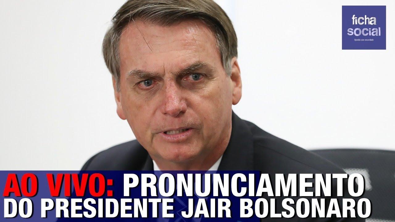 AO VIVO: PRESIDENTE BOLSONARO FAZ PRONUNCIAMENTO AO INAUGURAR COLÉGIO CÍVICO-MILITAR - RIO DE JAN..