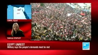 Egypt's army gives leadership 48 hours to resolve crisis - 07/01/2013
