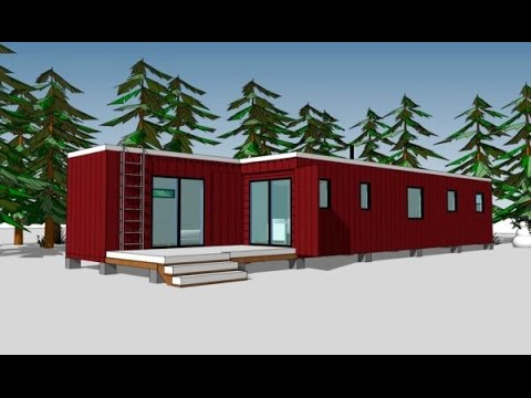 720 sq ft shipping container house plans youtube - Container homes youtube ...
