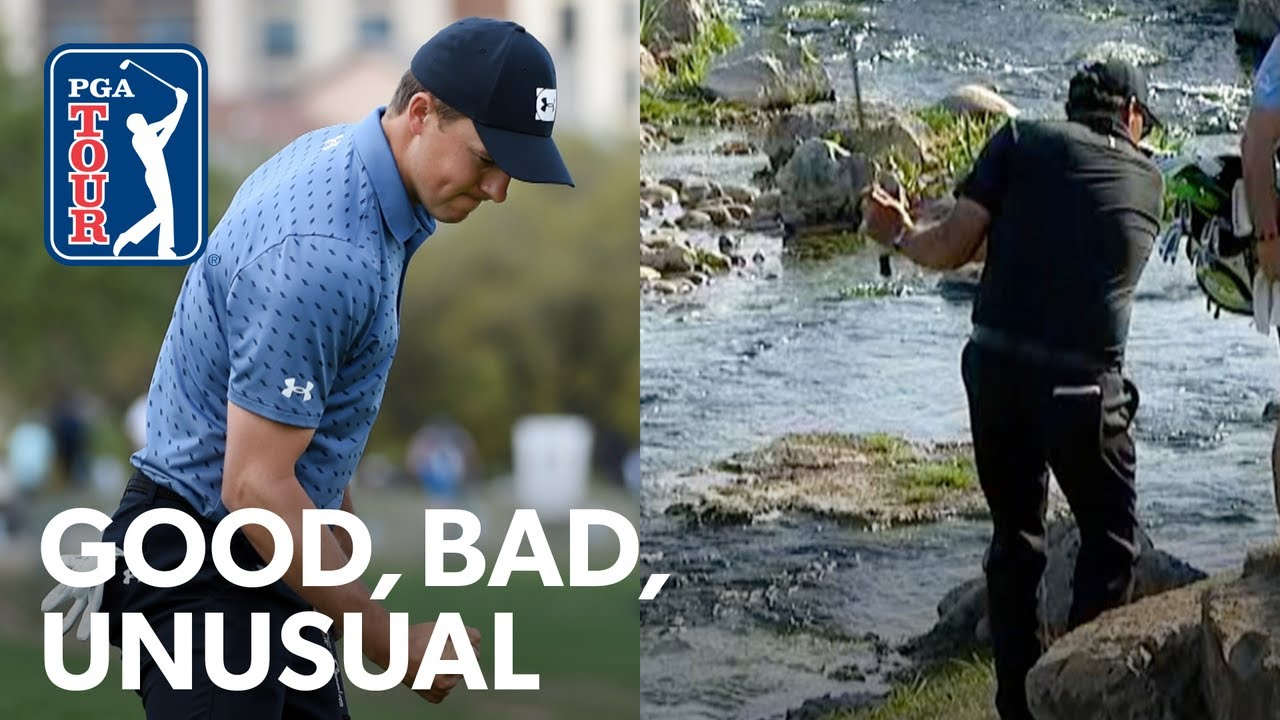 Spieth's back, Phil's 10 and Rahm's announcement