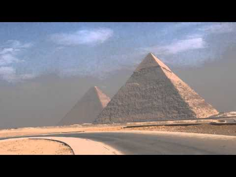 Giza Pyramids. Egypt. Cairo 2014 December