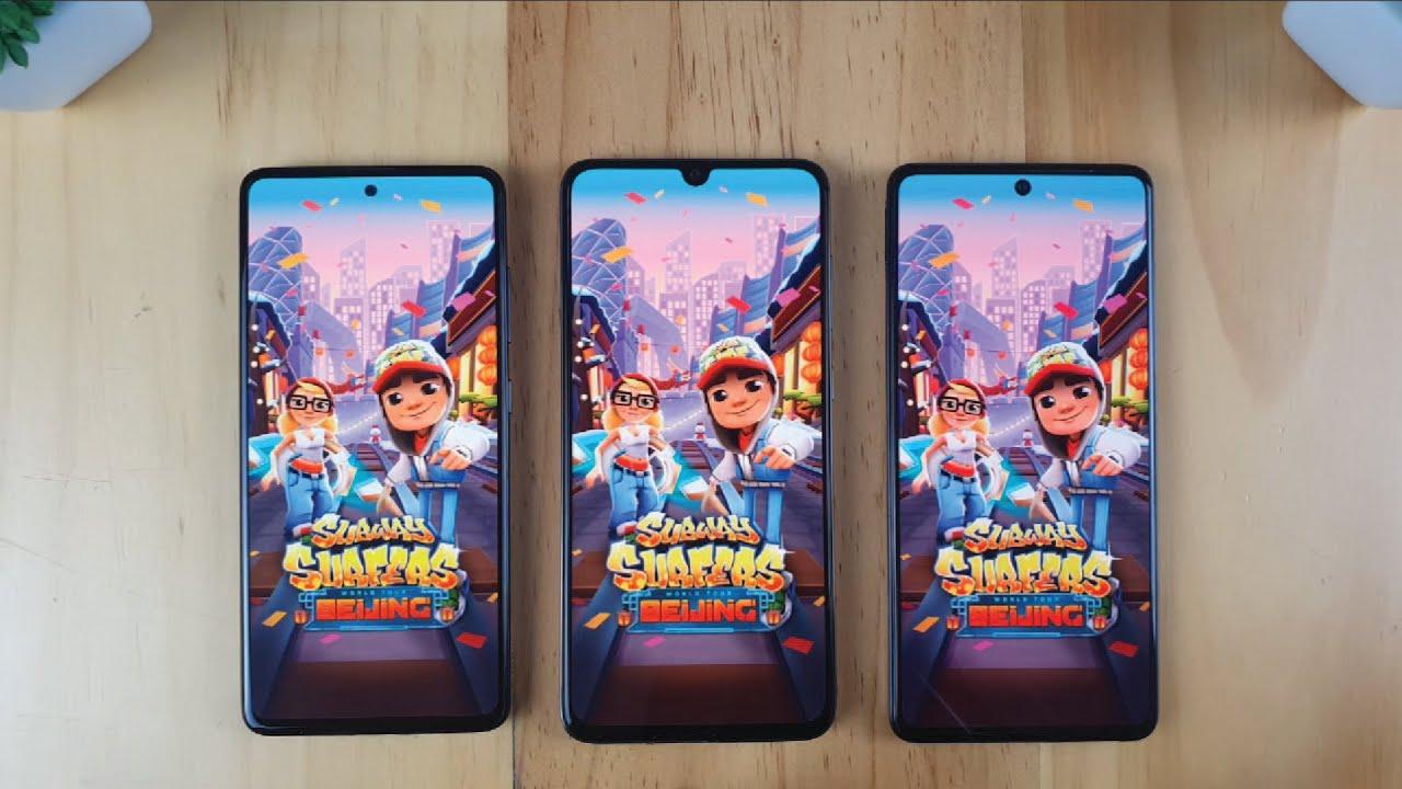 Photo of Samsung A71 vs Samsung A70 vs Samsung A51 | Fingerprint, Video display, Speedtest Comparison – سامسونج