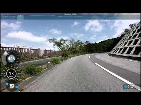 Haneji Dam  Final hill of the Tour De Okinawa
