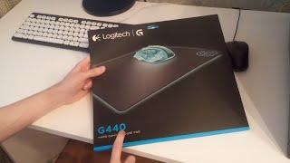 Обзор игрового коврика Logitech G440 Gaming Mouse Pad