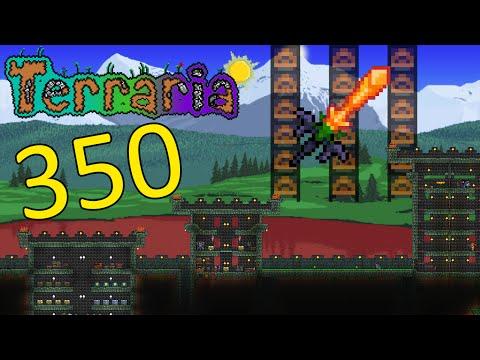 Terraria Part 350 - LET'S BUILD A BETTER ARENA