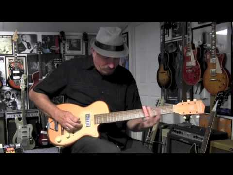 1955 Harmony H44 Stratotone Guitar Demo on
