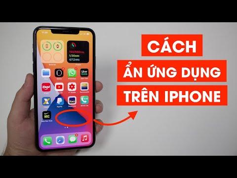 Cách ẩn, giấu ứng dụng trên iphone không cần phần mềm