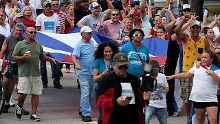 Маленькая Гавана  обрадовалась смерти Кастро