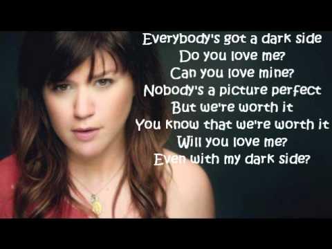 Kelly clarkson song dark side lyrics