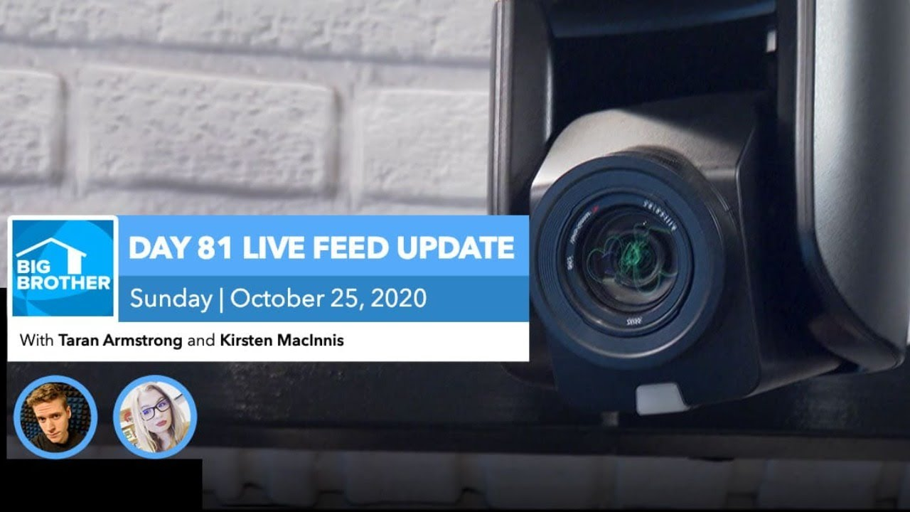 BB22 | Live Feed Update | Sunday, Oct 25, 2020