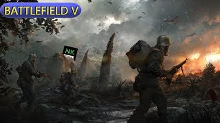 Battlefield5 Livestream road to 500 rank multiplayer 1080p PS4