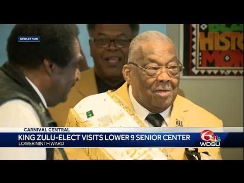 King Zulu 2019 heads to NOLA senior center