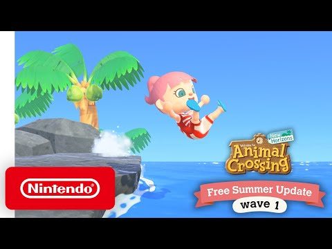 Animal Crossing: New Horizons Free Summer Update – Wave 1 – Nintendo Switch