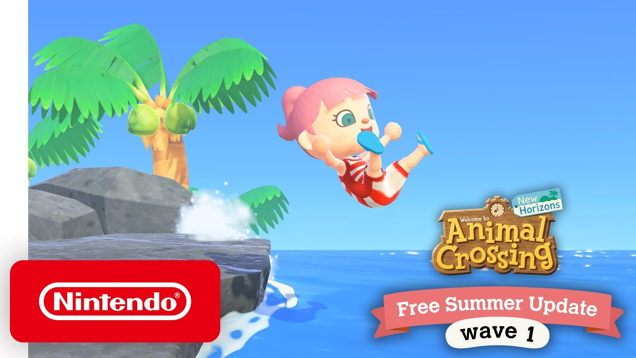 Animal Crossing: New Horizons Free Summer Update – Wave 1 ...