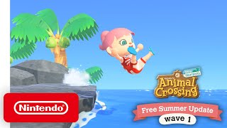 Animal Crossing: New Horizons Free Summer Update - Wave 1 - Nintendo Switch