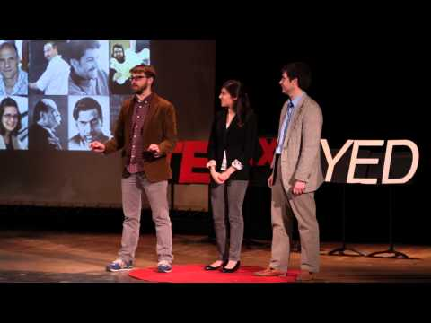 Math Munch: Justin Lanier, Paul Salomon, and Anna Weitman at TEDxNYED
