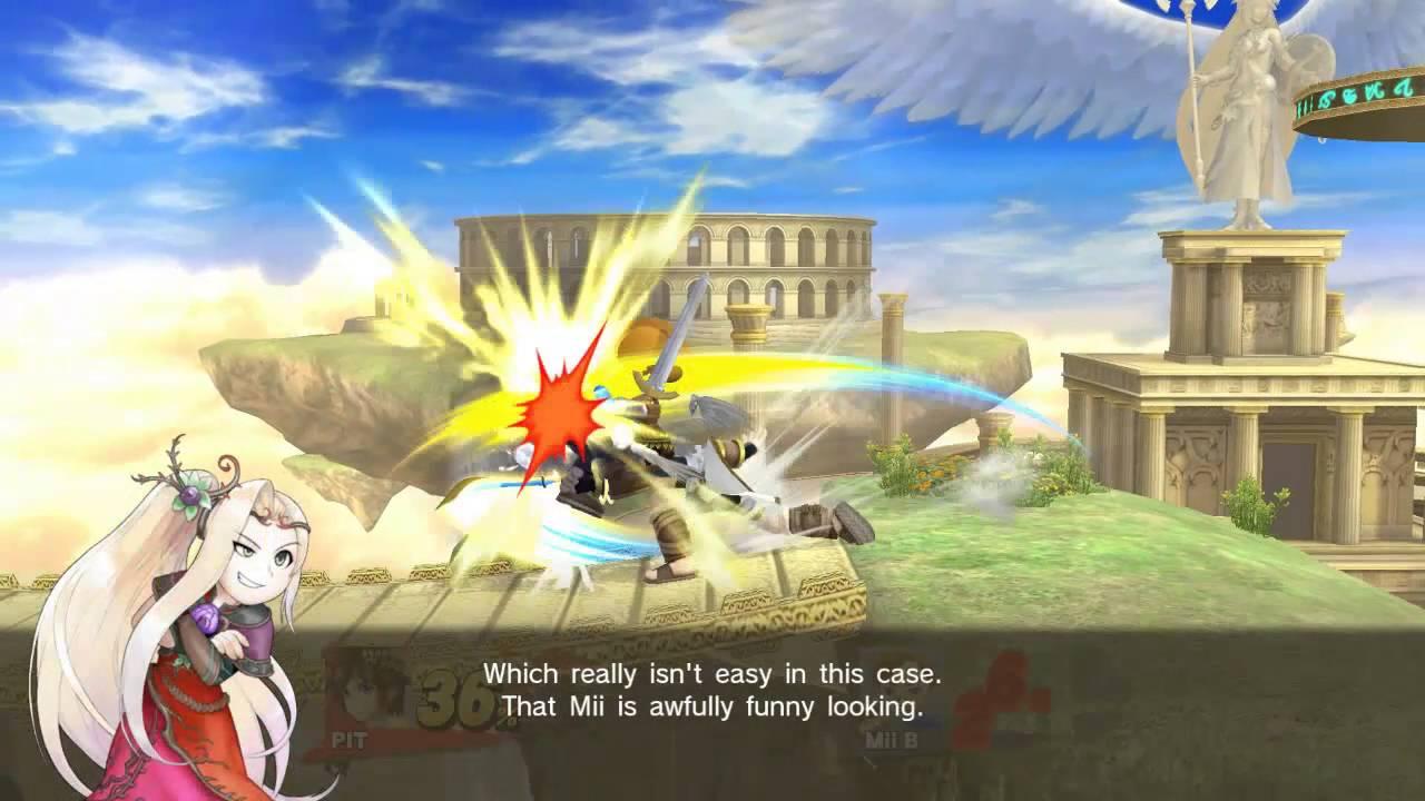 Super Smash Bros. Screenshots Show off Palutena, Mii