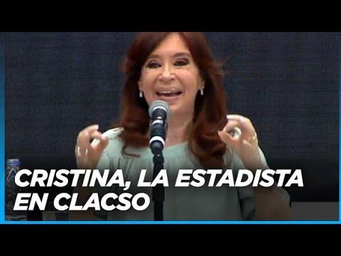 CLACSO - MAGISTRAL exposición de Cristina Kirchner (Parte 1)