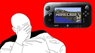 Minecraft Wii U Edition Won't Support Inventory Management At Launch. WTF...WHY NOT?!?!?!