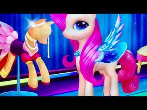My Little Pony - Game thời trang Pony siêu cute - Pony girls rainbow rocks song running shoes