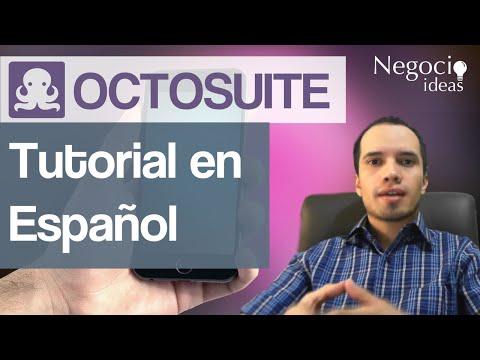 Octosuite Tutorial en Español