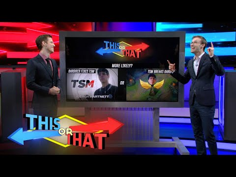This or That | Junglers These Days