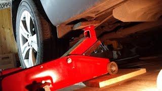 KIA SPORTEGE 3 2012 AWD CRDi замена задних тормозных колодок