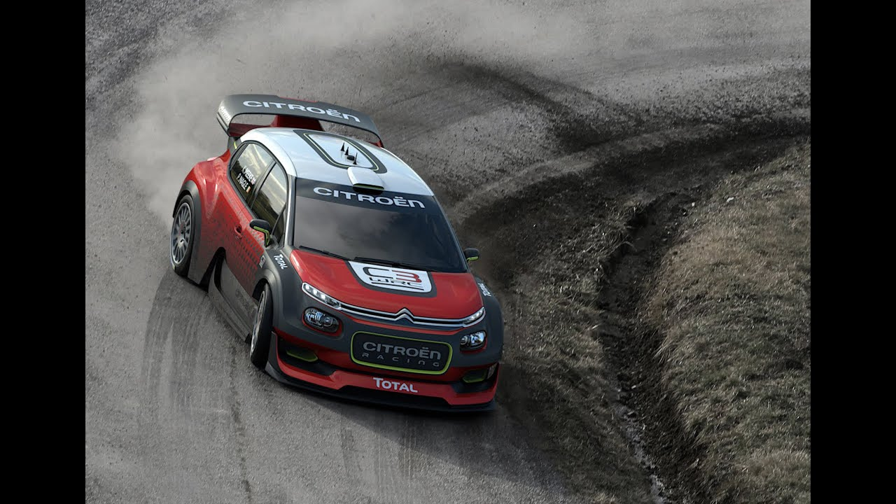 Citroen C3 World Rally Car Concept Youtube