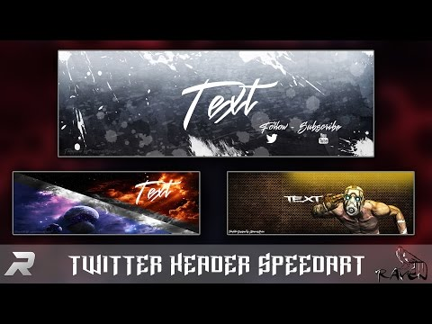 Abstract Twitter Header Template Free Doovi