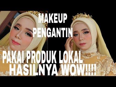 makeup-pengantin-dengan-produk-lokal-||-hasil-nya-wow!!!!!!
