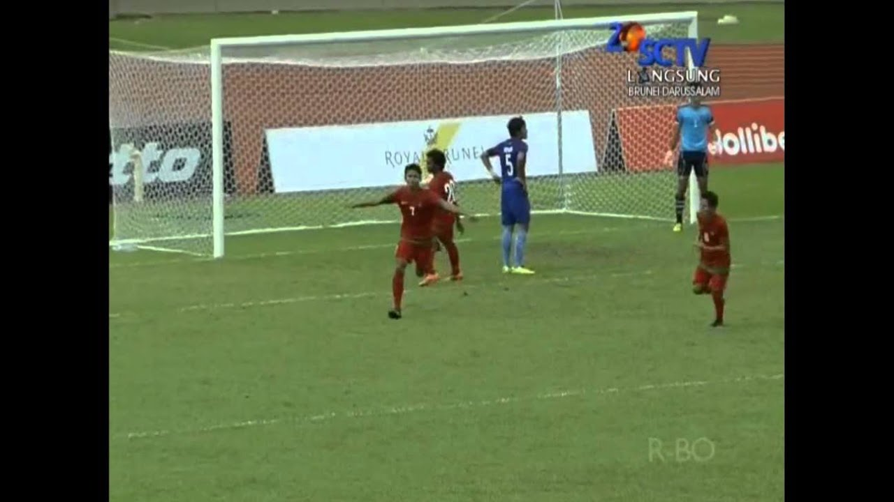 [ FULL HD ] Highlight Indonesia U19 VS Kamboja (1-2) - 16 Agustus 2014