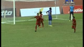Video Gol Pertandingan Indonesia U-19 vs Kamboja