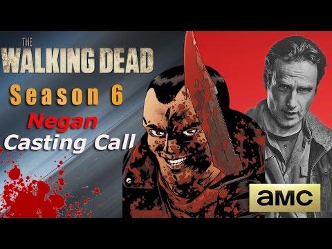 negan call the walking dead season 6 spoilers