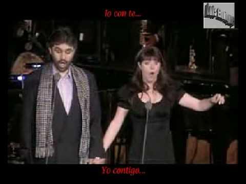 Time To Say Good Bye - Andrea Bocelli & Sarah Brightman Subtitulado Italiano Español
