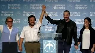 Nayib Bukele EN VIVO | Nuevo Presidente de la República de El Salvador