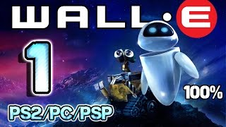 Wall-E Walkthrough Part 1 - 100% (PS2, PSP, PC) Level 1 & 2 ~ BnL Tune-Up & Sandstorm Sprint