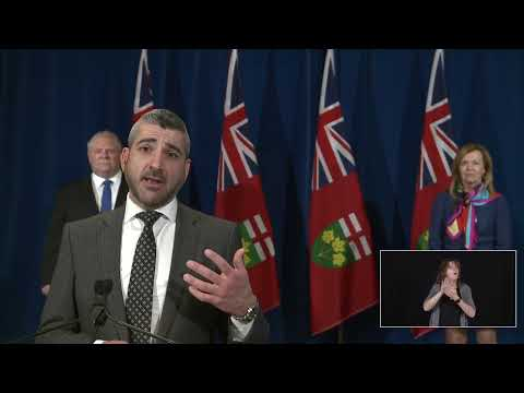 Premier Ford provides a COVID-19 update | May 21