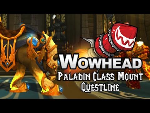 Paladin Class Mount Questline