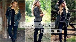 Autumn British Countrywear Lookbook 2016