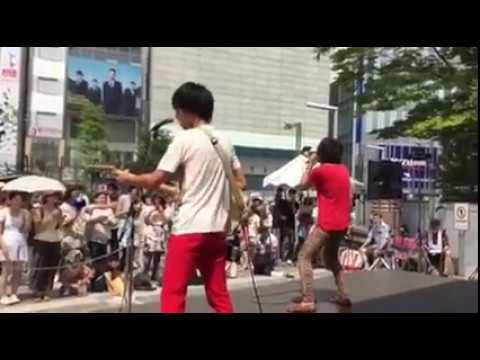 サルーキ=/終わりの時代 新宿アルタ前広場 2015.8.16