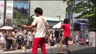 2015.8.16 東京 新宿アルタ前広場 新宿ステーションスクエア 「LOVE JAP...