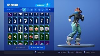 FORTNITE *POWDER* SKIN SHOWCASE (ALL BACKBLINGS, EMOTES)