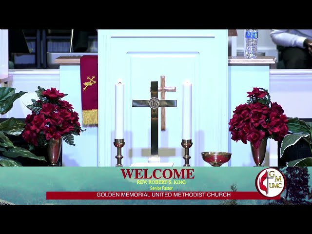 07-18-2021 - Golden Memorial Live Stream with Pastor Robert S. King