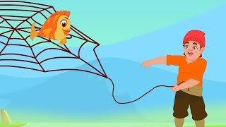 मूर्ख लालची मछुआरा - Moorkh Machhuaara | Greedy Fisherman | Moral Stories in Hindi For Kids