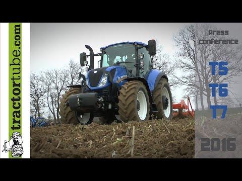 New Holland new models series T5, T6, T7 HD