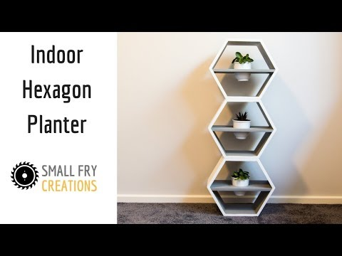 DIY | Indoor Hexagon Planter