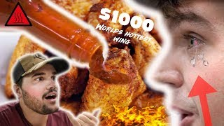 $1000 WORLDS HOTTEST Wing CHALLENGE!