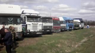 Лагерь дальнобойщиков в Орле